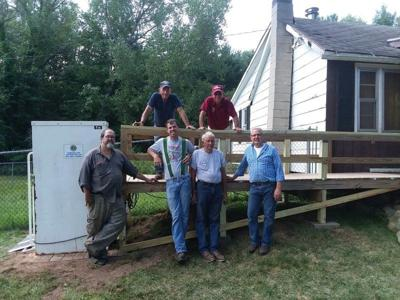 Barker Lions Club helps to install ramps