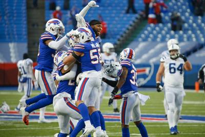 Bills beat Colts 27-24 for 1st playoff win in 25 years