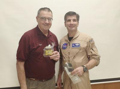 Local pilot discusses his 30-day trip through simulated space