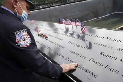 US marks 9/11 anniversary at tributes shadowed by virus