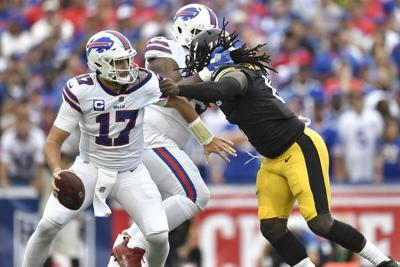 Offensive line woes costly for Bills in loss to Steelers