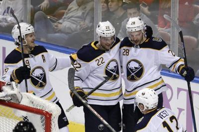 Girgensons nets a pair, Sabres top Panthers