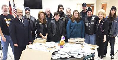 Motorcycle Club donates to Soup Kitchen