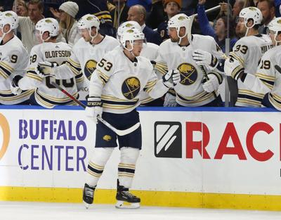 Eichel scores twice, Sabres outlast Maple Leafs