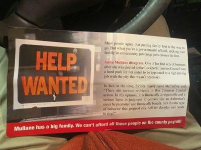 Mullane wants apology from McNall for mailer referencing sister