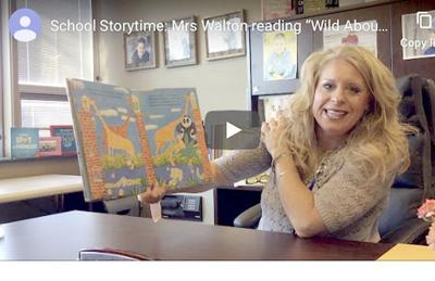 Storytime videos posted by Roy B. Kelley PTA