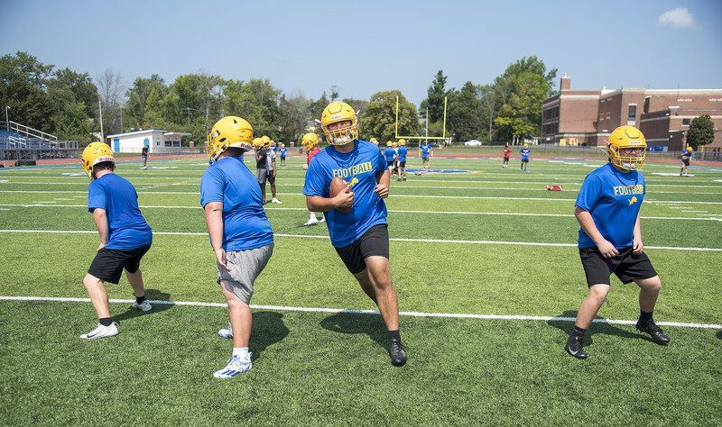 Lockport football looks to complete turnaround by piling wins