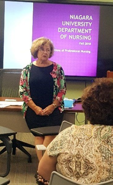 NU School of Nursing offers first classes at NFMMC