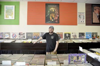 Vinny's Vinyl Record Shop is one of Lockport's newest