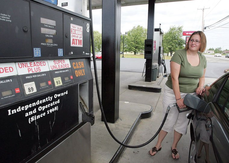 ECONOMY: Gas prices may have topped off for the season