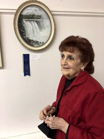Landscape artist snags the blue ribbon in guild show