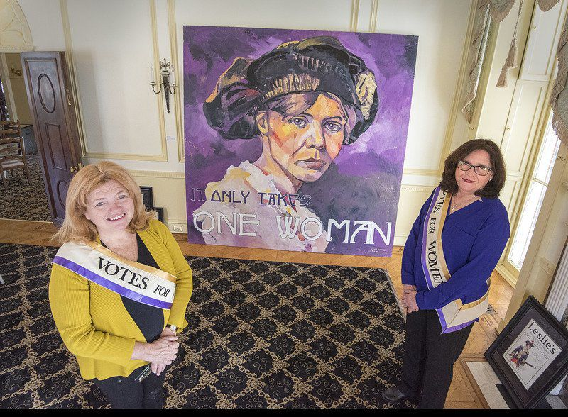 Exhibition at Kenan House recalls the fight for women's right to vote