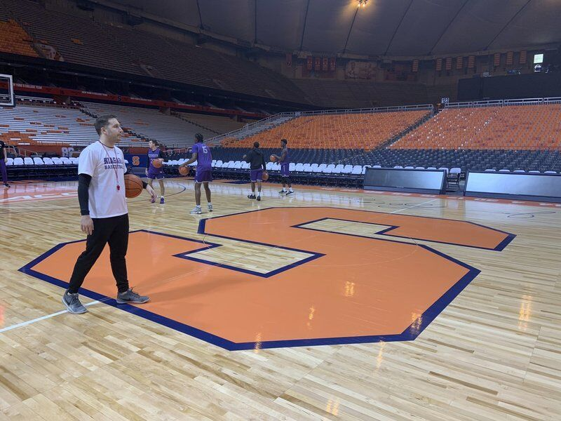 NU men finally set to tip off tonight in Syracuse