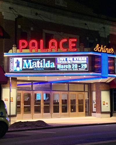 The Historic Palace Theatre in Lockport.