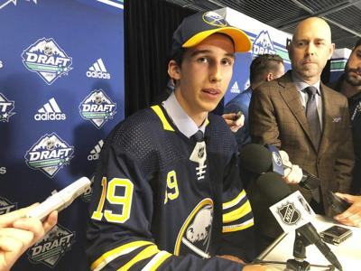 SABRES GO BIG WITH COZENS