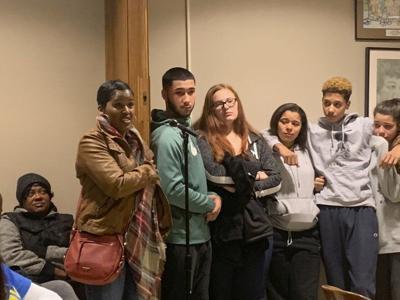 Lockport students show support for popular peer mediator