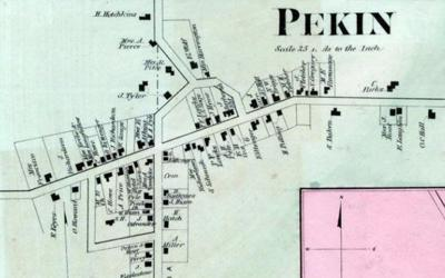 NIAGARA DISCOVERIES: Taking a peek at Pekin