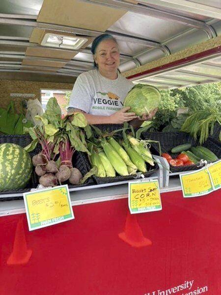 Bringing veggies to the people