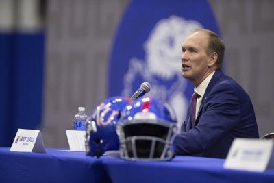 Leipoldofficially introduced as new Kansas coach