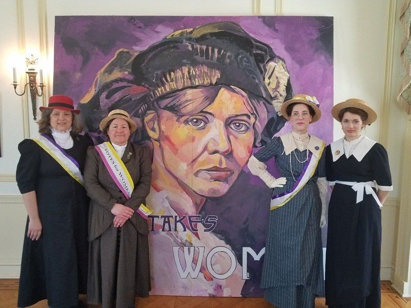 Catch the Art of Suffrage at the Kenan Center