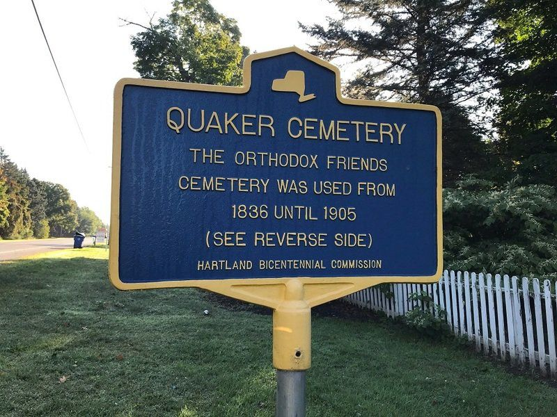 NIAGARA DISCOVERIES: Quaker settlement of eastern Niagara County