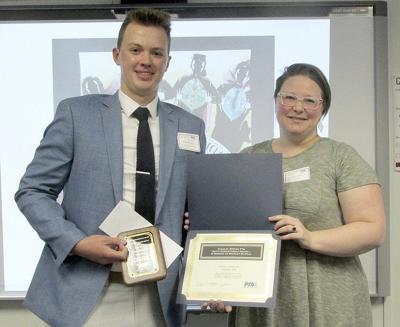 Starpoint senior wins state PTA Humanitarian Award