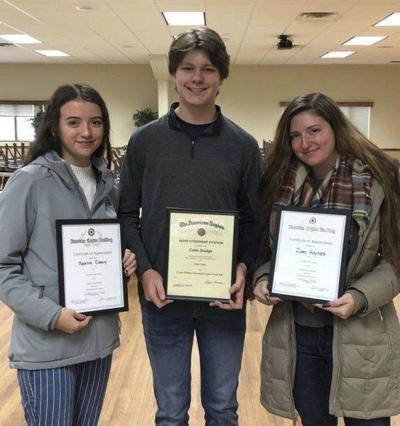 Roy-Hart students receive Citizen Awards