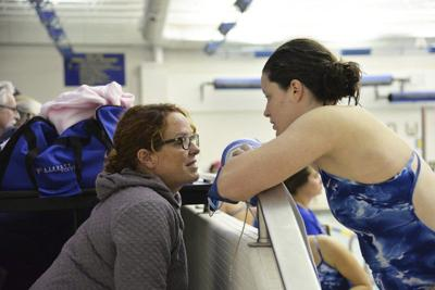 Adams excels as face of the LHS girls swim program