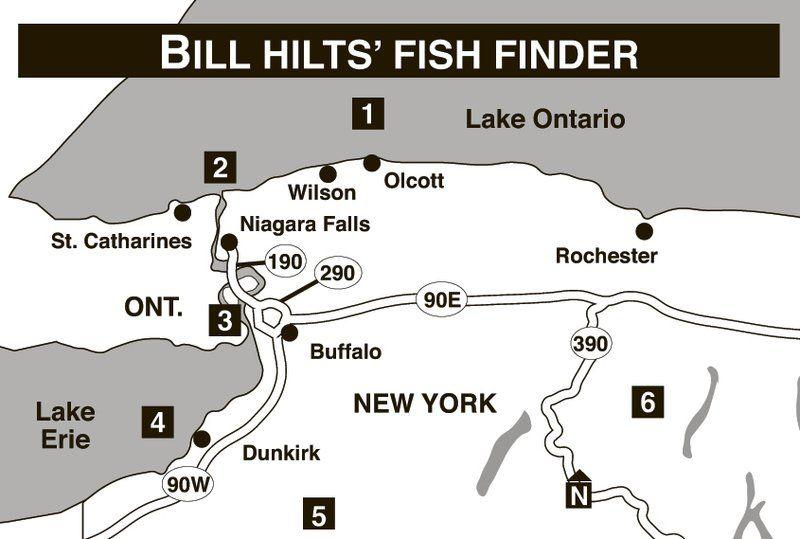 FISH FINDER: Some of the best spots to be are Eighteenmile