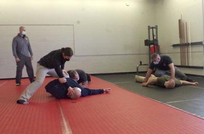 Local gym hosts LPD officer training