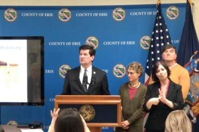 Poloncarz: 'Very bad' virus situation in Erie County