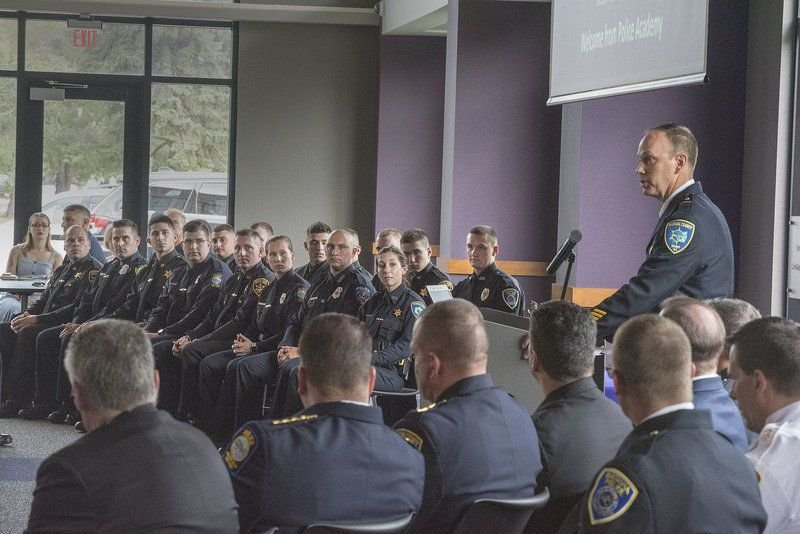 Law enforcement academy graduates new officers