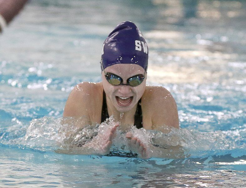 R-H's Hill, Akron put on major showings in N-O girls swim championship
