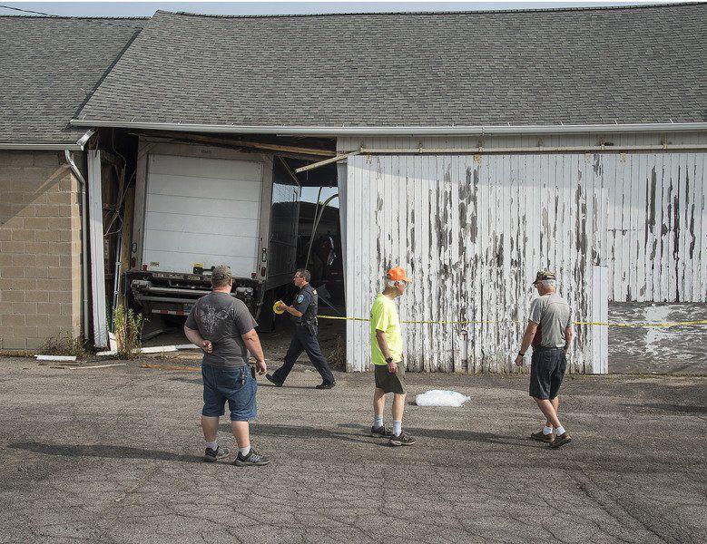 Bad breaks lead to barn crash on Tuesday