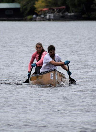 Local father-daughter team claims canoe race title