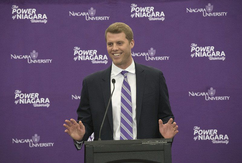 Beilein promises big things at Niagara introduction