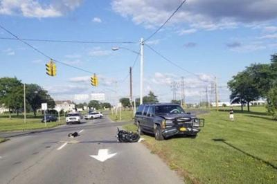 Motorcyclist killed after Falls crash