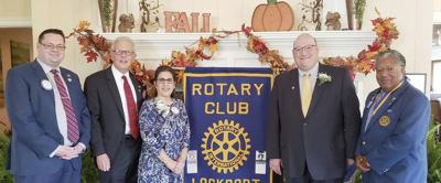 Lockport Rotary names its Paul Harris awardees