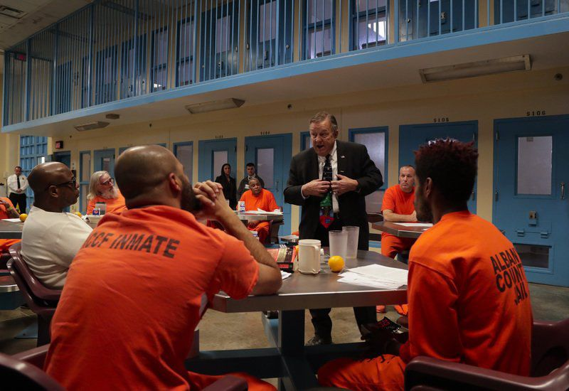 Veterans behind bars: US jails set aside special cellblocks