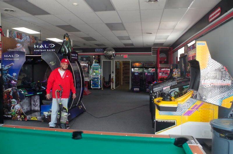 Joshua Lopez successfully opens arcade on Pine Street