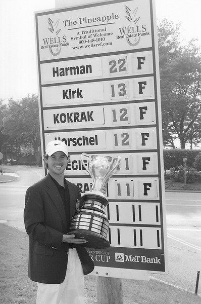 Porter Cup memories: Harman had no trouble setting a Porter Cup record at 22-under