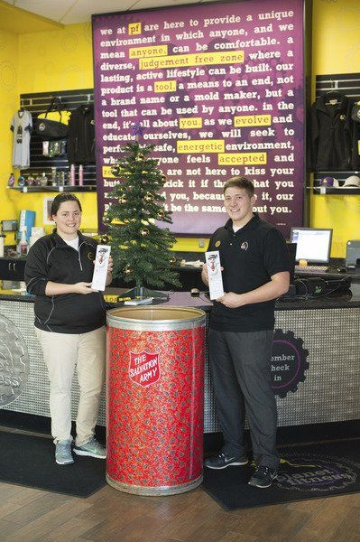 planet fitness hosts salvation army angel tree