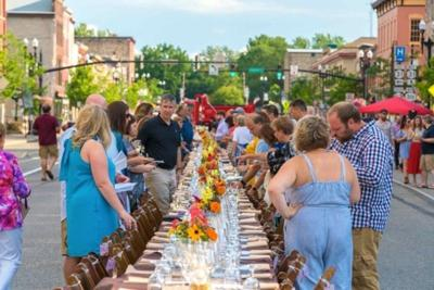 Celebrating another Farm to Table feast