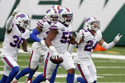 Bills' Hughes isn't mellowing, but growing wiser with age