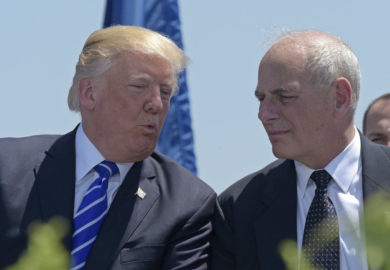Trump pushes out Priebus, names DHS' Kelly WH chief of staff