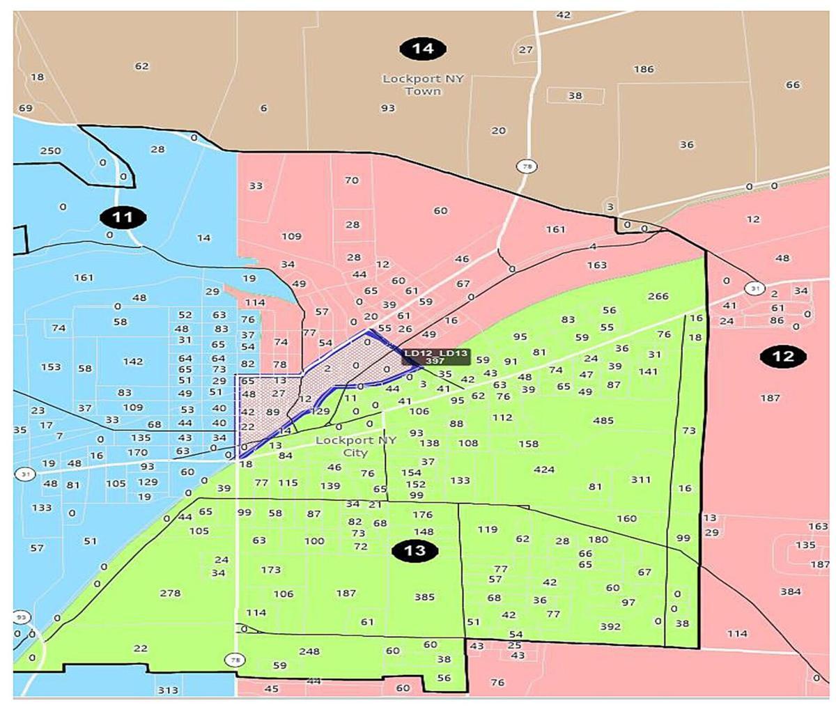 Hearing tonight on county redistricting plan