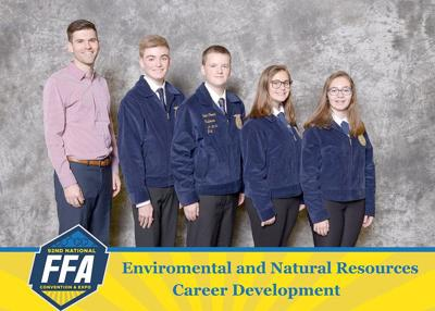 Roy-Hart FFA team are nationalevent winners