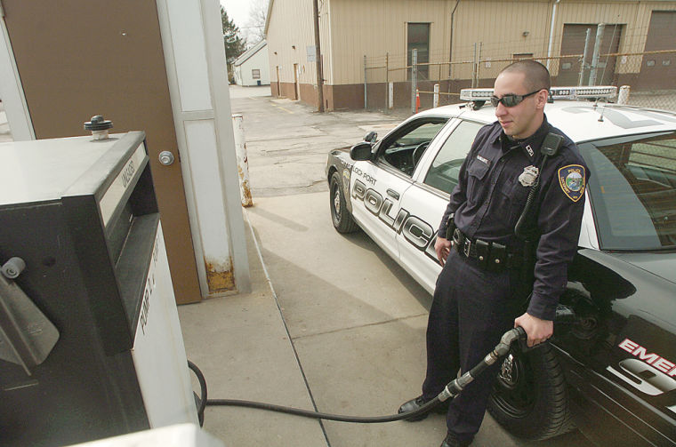 ECONOMY: Police patrols deal with skyrocketing gas prices