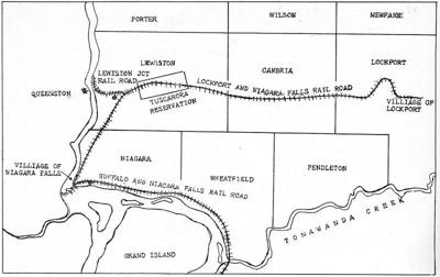 NIAGARA DISCOVERIES: Lockport and Niagara Falls Railroad