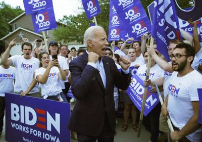 Biden still the Dem to beat, but rivals see weakness